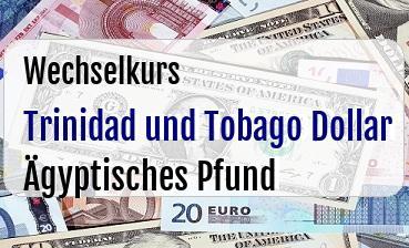 Trinidad und Tobago Dollar in Ägyptisches Pfund