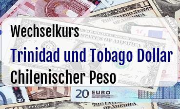 Trinidad und Tobago Dollar in Chilenischer Peso