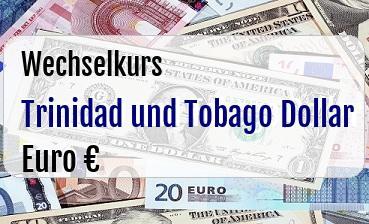 Trinidad und Tobago Dollar in Euro