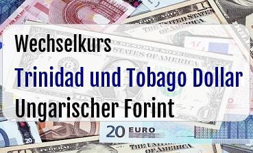Trinidad und Tobago Dollar in Ungarischer Forint