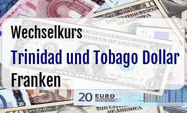 Trinidad und Tobago Dollar in Schweizer Franken