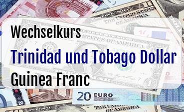 Trinidad und Tobago Dollar in Guinea Franc
