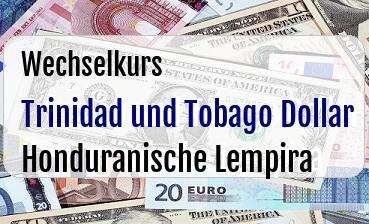 Trinidad und Tobago Dollar in Honduranische Lempira