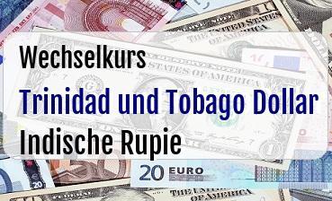 Trinidad und Tobago Dollar in Indische Rupie