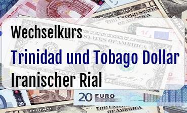 Trinidad und Tobago Dollar in Iranischer Rial