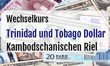 Trinidad und Tobago Dollar in Kambodschanischen Riel