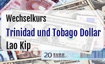 Trinidad und Tobago Dollar in Lao Kip