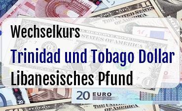 Trinidad und Tobago Dollar in Libanesisches Pfund