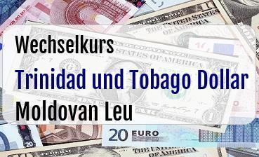Trinidad und Tobago Dollar in Moldovan Leu