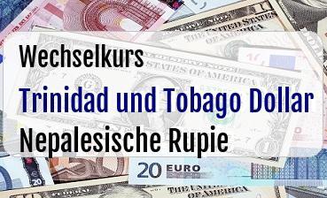 Trinidad und Tobago Dollar in Nepalesische Rupie
