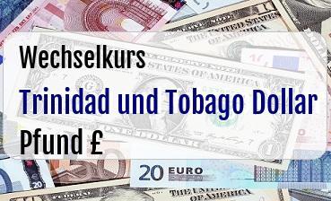 Trinidad und Tobago Dollar in Britische Pfund