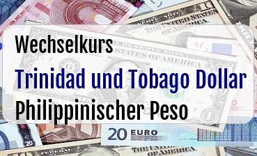 Trinidad und Tobago Dollar in Philippinischer Peso