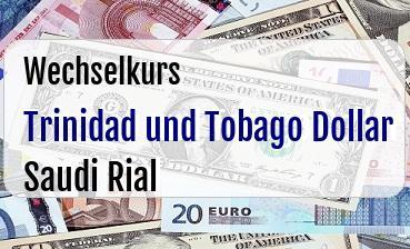 Trinidad und Tobago Dollar in Saudi Rial