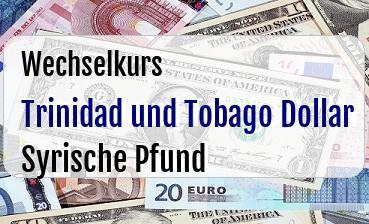 Trinidad und Tobago Dollar in Syrische Pfund