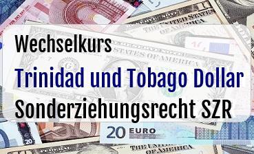 Trinidad und Tobago Dollar in Sonderziehungsrecht SZR