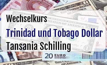 Trinidad und Tobago Dollar in Tansania Schilling