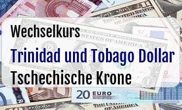 Trinidad und Tobago Dollar in Tschechische Krone