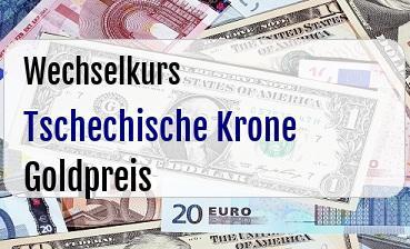 Tschechische Krone in Goldpreis