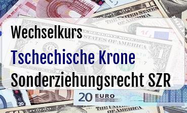 Tschechische Krone in Sonderziehungsrecht SZR