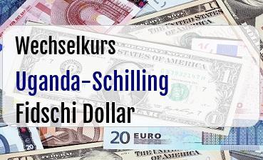 Uganda-Schilling in Fidschi Dollar