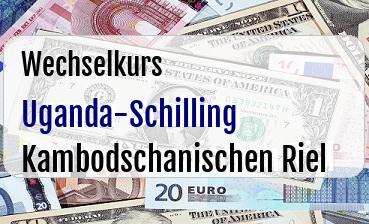 Uganda-Schilling in Kambodschanischen Riel