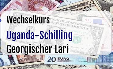 Uganda-Schilling in Georgischer Lari