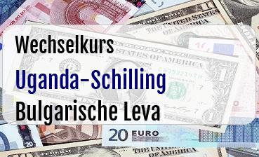 Uganda-Schilling in Bulgarische Leva