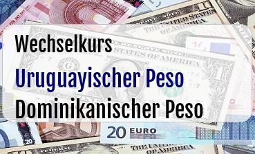 Uruguayischer Peso in Dominikanischer Peso