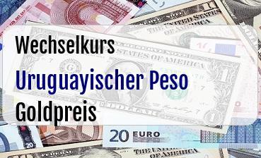 Uruguayischer Peso in Goldpreis