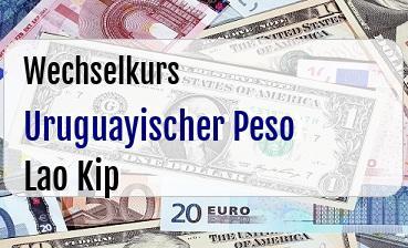 Uruguayischer Peso in Lao Kip