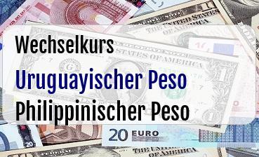 Uruguayischer Peso in Philippinischer Peso