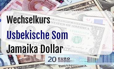 Usbekische Som in Jamaika Dollar