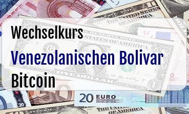 Venezolanischen Bolivar in Bitcoin