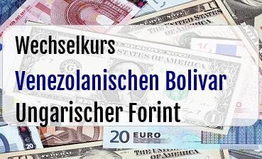 Venezolanischen Bolivar in Ungarischer Forint