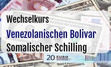 Venezolanischen Bolivar in Somalischer Schilling