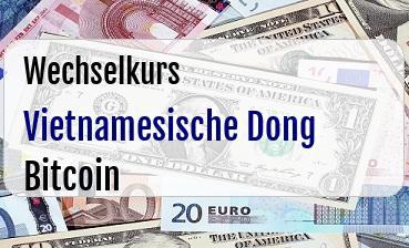Vietnamesische Dong in Bitcoin