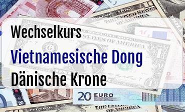 Vietnamesische Dong in Dänische Krone