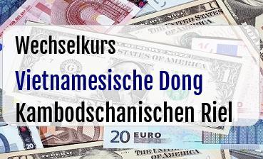 Vietnamesische Dong in Kambodschanischen Riel