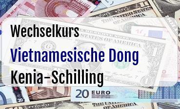 Vietnamesische Dong in Kenia-Schilling