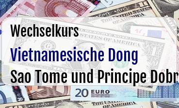 Vietnamesische Dong in Sao Tome und Principe Dobra