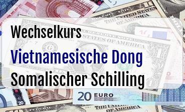 Vietnamesische Dong in Somalischer Schilling
