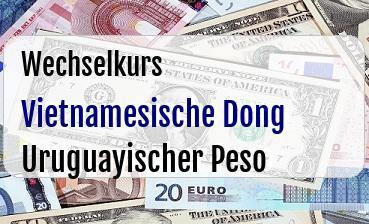 Vietnamesische Dong in Uruguayischer Peso