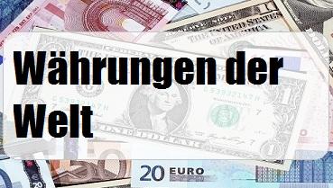Währungen der Welt