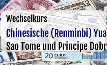 Chinesische (Renminbi) Yuan in Sao Tome und Principe Dobra