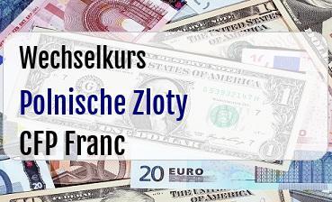 Polnische Zloty in CFP Franc