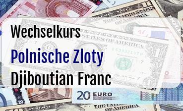 Polnische Zloty in Djiboutian Franc
