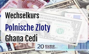 Polnische Zloty in Ghana Cedi
