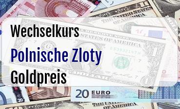 Polnische Zloty in Goldpreis