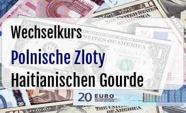 Polnische Zloty in Haitianischen Gourde