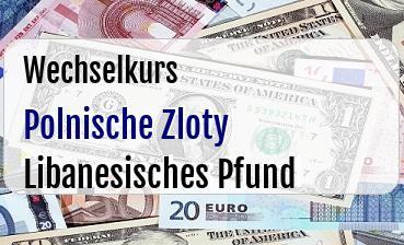 Polnische Zloty in Libanesisches Pfund